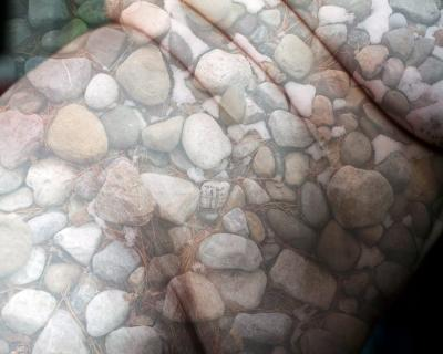 Day 76 Sarah R. Bloom self-portrait digital composite